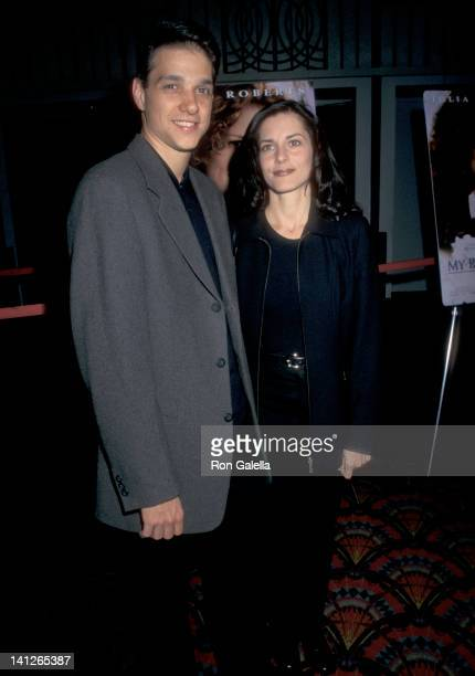 Ralph Macchio and Phyllis Fierro at the Premiere of 'My Best Friend's Wedding' Sony Lincoln Square New York City