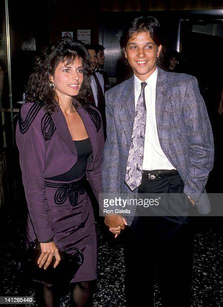 Ralph Macchio and Phyllis Fierro at the Premiere of 'Sea of Love' Beekman Theater New York City