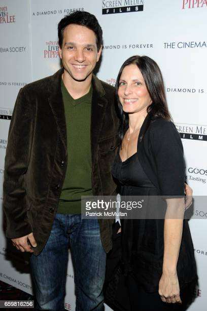 Ralph Macchio and Phyllis Fierro attend THE CINEMA SOCIETY A DIAMOND IS FOREVER host a screening of THE PRIVATE LIVES OF PIPPA LEE at AMC 19th Street...
