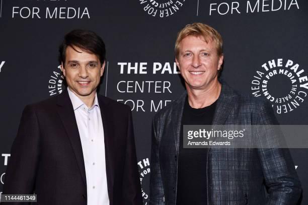 "Ralph Macchio and William Zabka attend the premiere screening and conversation of YouTube Original's ""Cobra Kai"" Season 2 at The Paley Center for..."