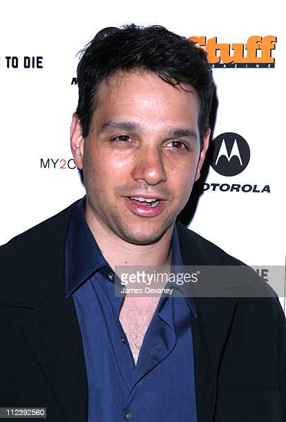 """Ralph Macchio during """"A Good Night to Die"""" Premiere After Party at Man Ray in New York City, New York, United States."""