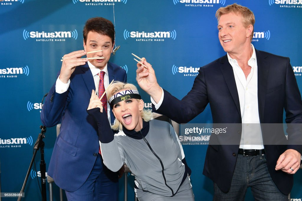 Celebrities Visit SiriusXM - May 1, 2018 : News Photo