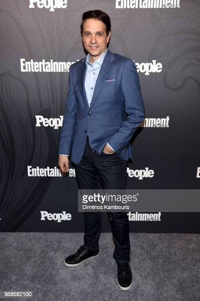 Ralph Macchio of Cobra Kai attends Entertainment Weekly PEOPLE New York Upfronts celebration at The Bowery Hotel on May 14 2018 in New York City
