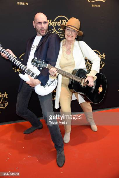 Ralph Morgenstern and Baerbel Wierichs attend the 25th anniversary celebration at Hard Rock Cafe Berlin on May 18 2017 in Berlin Germany