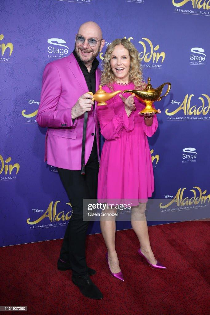 "DEU: ""Aladdin"" Musical Premiere In Stuttgart"