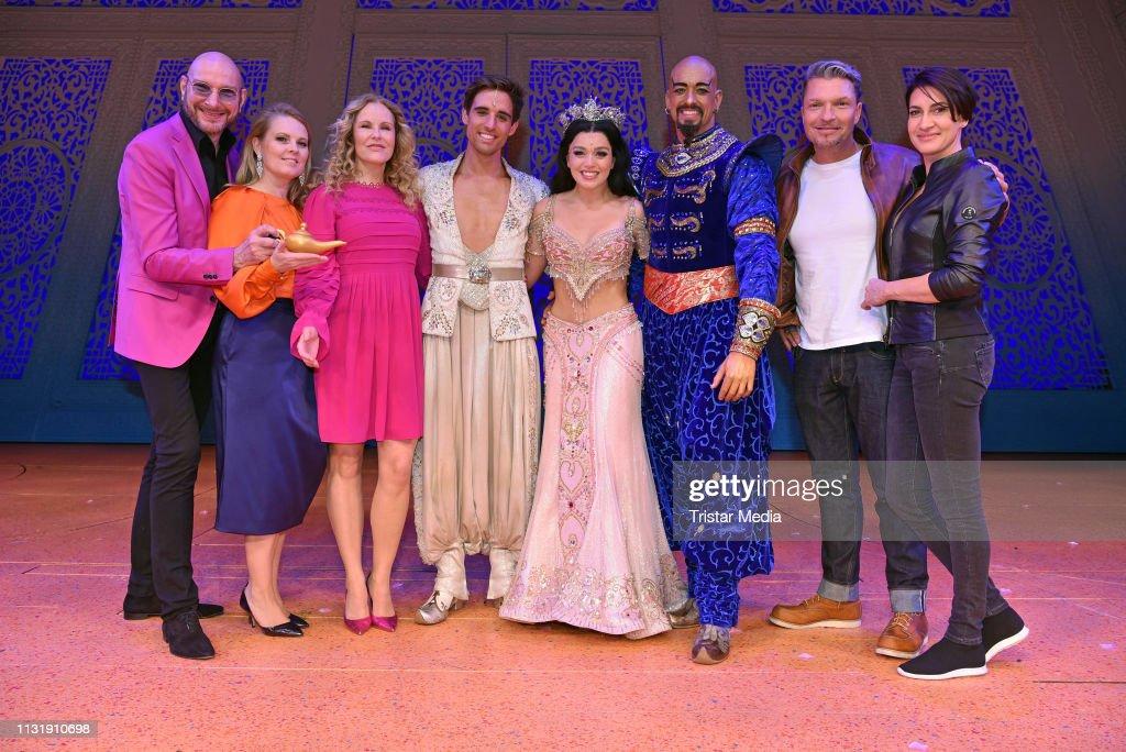 """DEU: """"Aladdin"""" Musical Premiere Final Applause  In Stuttgart"""