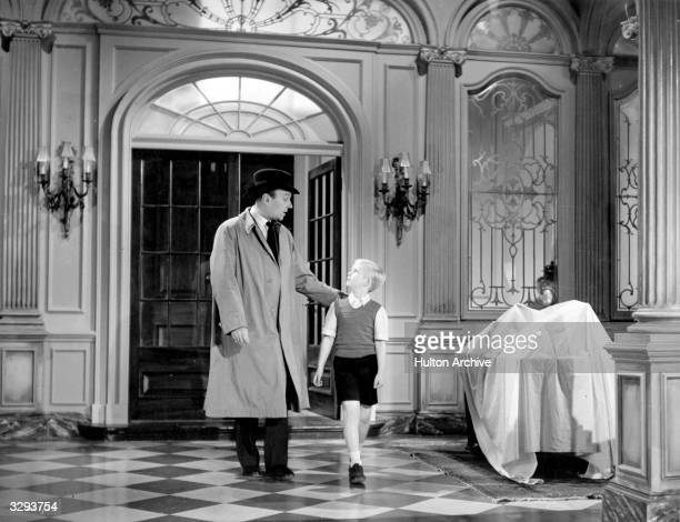 Ralph Richardson stars with child actor Bobby Henrey in Carol Reed's latest film 'The Fallen Idol' Based on a story by Graham Greene the film is...