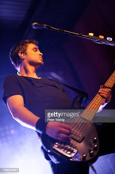 Ralph Rieker of Die Happy performs on stage at the Live Music Hall on October 20 2010 in Cologne Germany