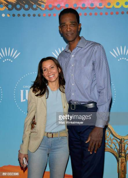 Ralph Sampson attends Cirque du Soleil presents the Los Angeles premiere event of 'Luzia' at Dodger Stadium on December 12 2017 in Los Angeles...