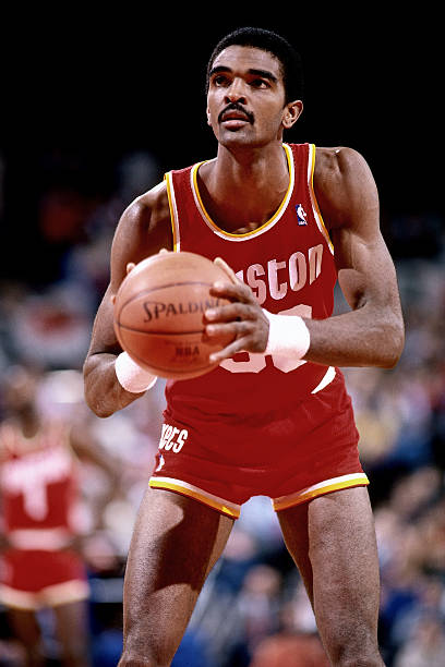 Ralph Sampson of the Houston Rockets