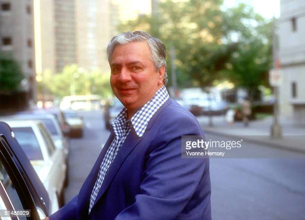 Ralph Scopo a soldier in the Colombo Crime Family is photographed September 8 1986 during the Commission Trial in New York City