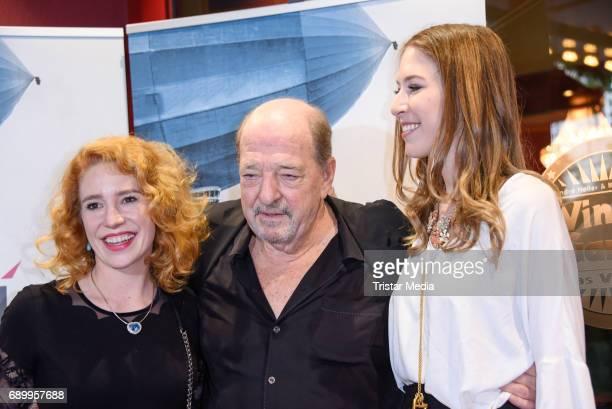 Ralph Siegel and Laura Kaefer daughter Alana Siegel during the Ralph Siegel musical 'Zeppelin' performance in Berlin at Wintergarten on May 29 2017...