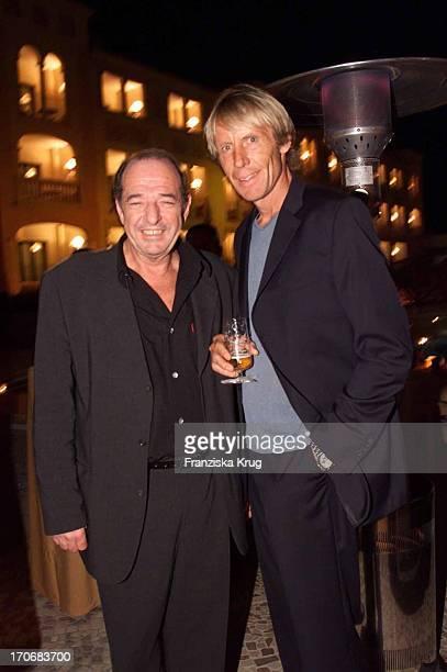 Ralph Siegel Carlo Thränhardt Feiern Auf Der Planet Mallorca Party Im Dorint Hotel Am 270401 Auf Mallorca