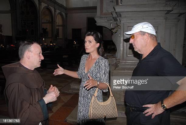 Ralph Siegel Ehefrau Kriemhild Jahn Geistlicher Musikfilm 'Eine Nacht in Venedig' mit K R I E M H I L D J A H N Venedig Italien Europa Pallazzo...