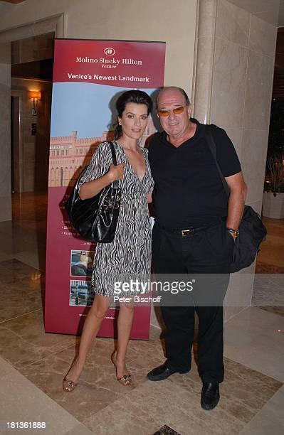 Ralph Siegel Ehefrau Kriemhild Jahn Hotel Molino Stucky Hilton vor Dreh zum Musikfilm Eine Nacht in Venedig mit K R I E M H I L D J A H N Venedig...