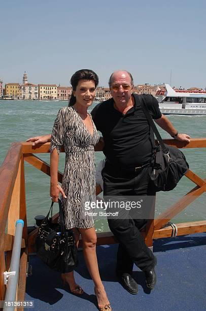 Ralph Siegel Ehefrau Kriemhild Jahn Musikfilm Eine Nacht in Venedig mit K R I E M H I L D J A H N Venedig Italien Europa Canale Grande Ehemann Urlaub...