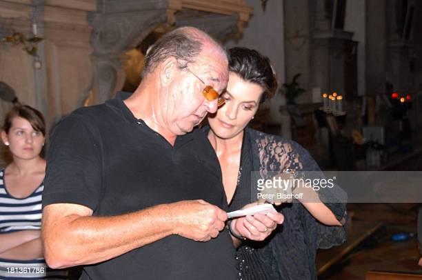Ralph Siegel Ehefrau Kriemhild Jahn Musikfilm 'Eine Nacht in Venedig' mit K R I E M H I L D J A H N Venedig Italien Europa Pallazzo Kirche 'San...