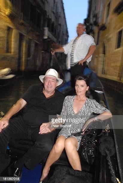 Ralph Siegel Ehefrau Kriemhild Jahn Musikfilm Eine Nacht in Venedig mit K R I E M H I L D J A H N Venedig Italien Europa Canale romantisch Gondel...