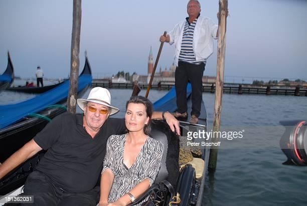 Ralph Siegel Ehefrau Kriemhild Jahn Musikfilm Eine Nacht in Venedig mit K R I E M H I L D J A H N Venedig Italien Europa Canale Grande romantisch...