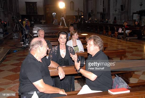 Ralph Siegel Ehefrau Kriemhild Jahn Produzent Holm Dressler Musikfilm 'Eine Nacht in Venedig' mit K R I E M H I L D J A H N Venedig Italien Europa...