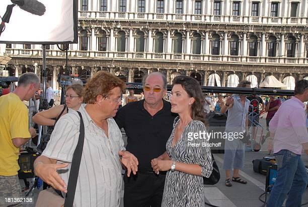 Ralph Siegel Ehefrau Kriemhild Jahn Regisseur Michael Becker Musikfilm Eine Nacht in Venedig mit K R I E M H I L D J A H N Venedig Italien Europa...
