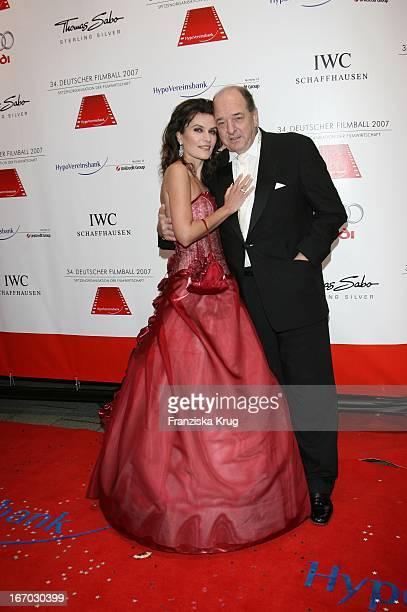 Ralph Siegel Mit Ehefrau Kriemhild Jahn Beim 34 Deutschen Filmball Im Hotel Bayerischer Hof In München Am 200107
