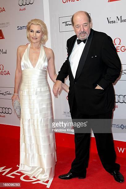 Ralph Siegel Und Ehefrau Kriemhild Beim 38 Deutschen Filmball Im Hotel Bayrischer Hof In München
