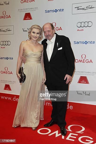 Ralph Siegel Und Ehefrau Kriemhild Beim 39Deutschen Filmball Im Hotel Bayrischer Hof In München