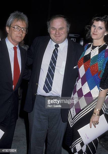 Ralph Singleton Joan Singleton and Al Waxman attend Women In Film Awards Luncheon on November 16 1986 at the Director's Guild Theater in Hollywood...