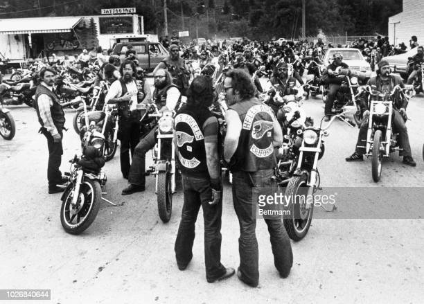 35 Hells Angels President At Club Usa Pictures, Photos