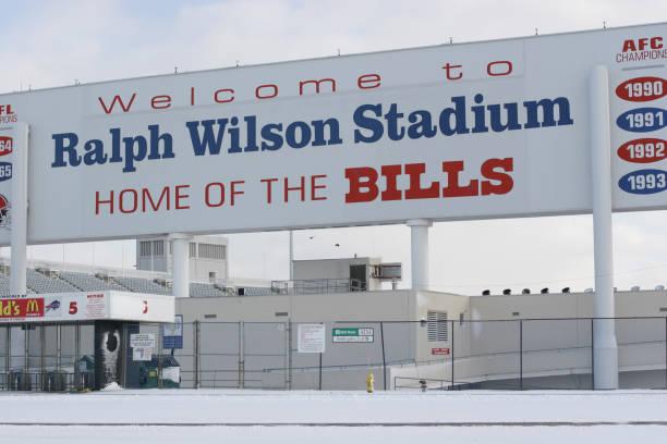 Ralph Wilson Stadium, home of the NFL champion 'Buffalo Bills' football team.