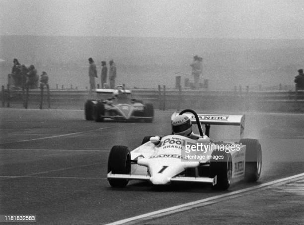 Ralt RT3, Ayrton Senna, Formula 3 at Thruxton 3rd March 1983. Creator: Unknown.