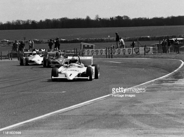 Ralt RT3, Ayrton Senna, Formula 3 at Thruxton 4th April 1983. Creator: Unknown.
