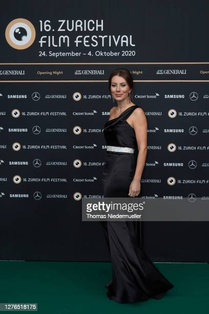 Raluca Simu attends the green carpet of the 16th Zurich Film Festival at Kino Corso on September 24 2020 in Zurich Switzerland The Zurich Film...