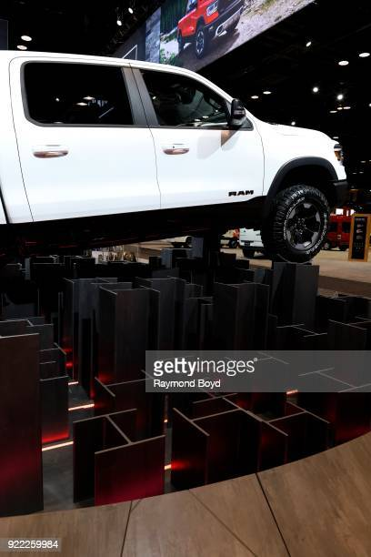 Ram 1500 Truck is on display at the 110th Annual Chicago Auto Show at McCormick Place in Chicago Illinois on February 9 2018