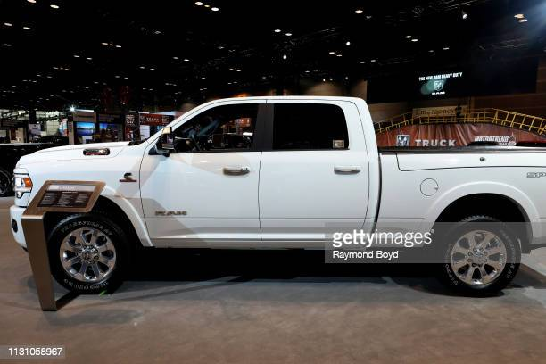 Ram 2500 Laramie is on display at the 111th Annual Chicago Auto Show at McCormick Place in Chicago Illinois on February 8 2019