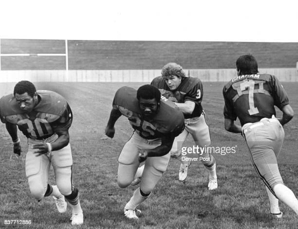 Ram Backs Speedy, Powerful and Experienced Veterons Ron Harris , Ben Norman , Mark Davis and quorterback Dan Grohom , all seniors, will open season...
