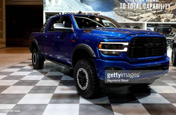 Ram Bighorn in the Mopar Garage at the 111th Annual Chicago Auto Show at McCormick Place in Chicago Illinois on February 8 2019