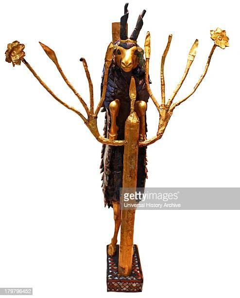 Ram in a Thicket This statue is traditionally known as the Ram in a Ticket is more accurately described as a goat It stands with its forelegs on the...