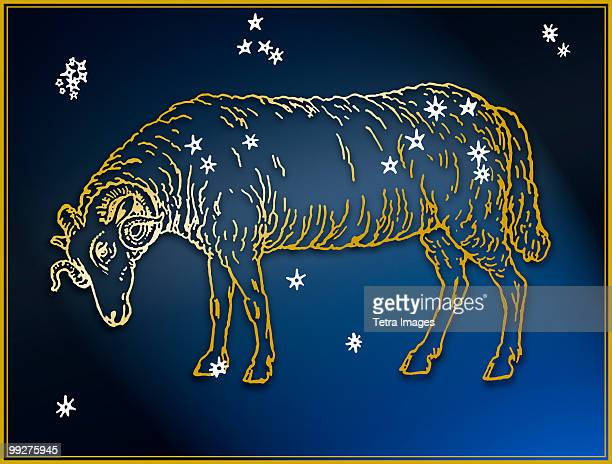 ram - astrology sign stock photos and pictures