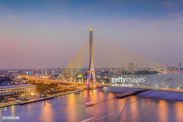 rama viii bridge - nopz stock pictures, royalty-free photos & images