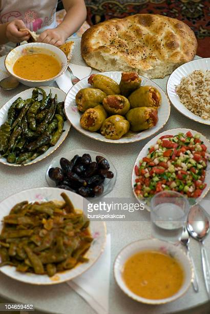 ramadan food, istanbul, turkey - iftar stock pictures, royalty-free photos & images