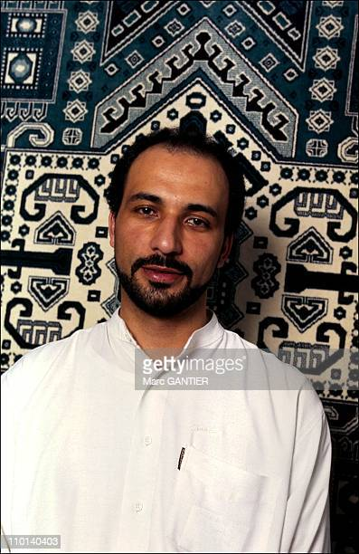 T Ramadan grandson of Muslims brothers founder in Great Britain at the conference ' Islam and the city' at Tanger street in Paris France in June 1997