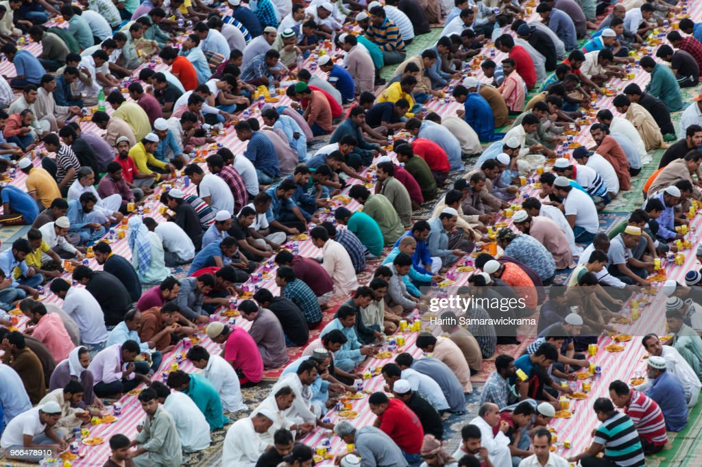 Ramadan in Dubai : Stock Photo