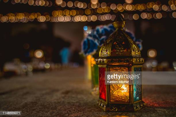 ramadan lantern - ramadan stock pictures, royalty-free photos & images