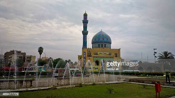Ramadan Mosque anniversary of the Battle of Badr Firdous Square .. Iraq .. Baghdad Rasoul Ali