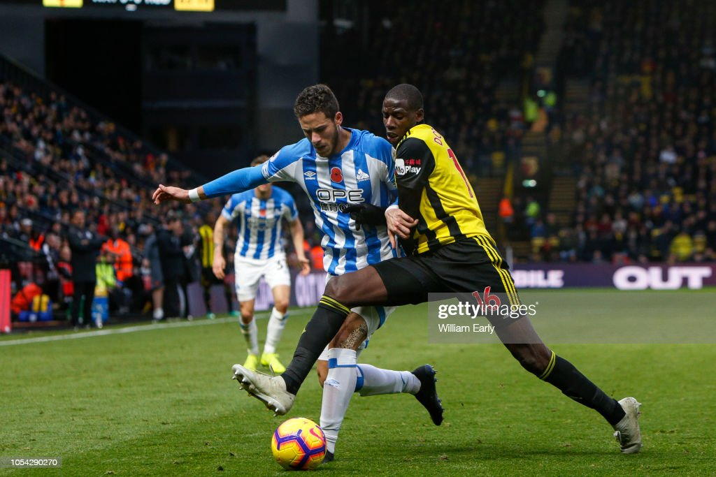 Watford FC v Huddersfield Town - Premier League : News Photo