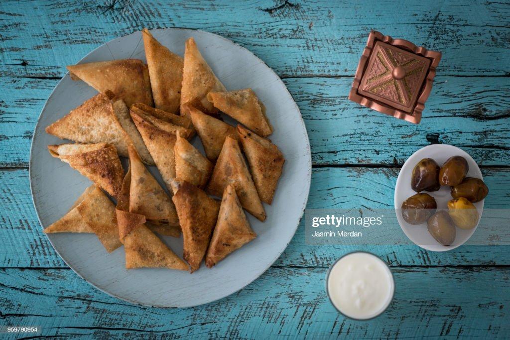 Ramadan table : Stock-Foto
