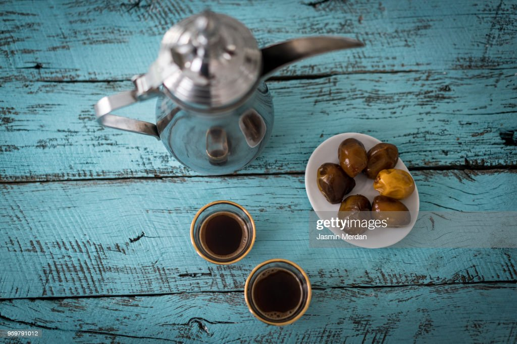 Ramadan table : Stockfoto