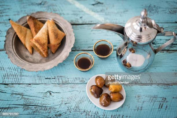 ramadan table - iftar stock pictures, royalty-free photos & images